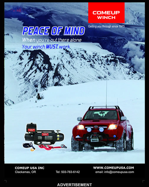 COMEUP Winch Toyota Cruisers Trucks Magazine